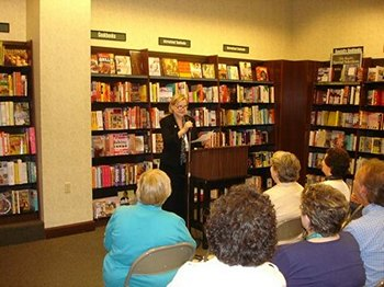 Laurel Ann Nattress book launch for Jane Austen Made Me Do It Ft. Worth (2011)