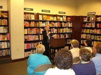Laurel Ann Nattress book launch for Jane Austen Made Me Do It Ft. Worth (2011)