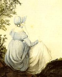 Jane Austen, by Cassandra Austen