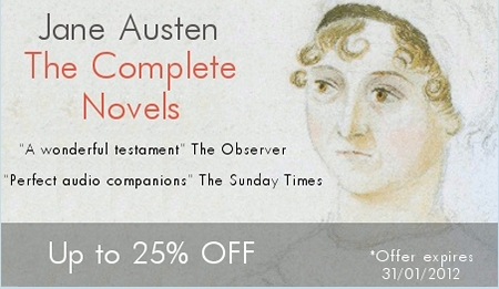 Naxos Audiobooks UK Sale Banner