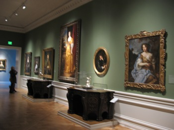 Art Gallery at the Huntington Library Dec 2011