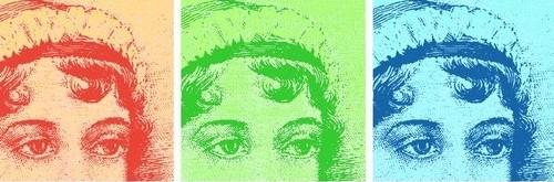 Jane Austen Warhol Banner