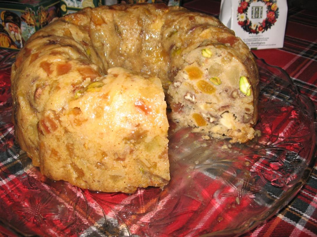 Laurel Ann's Infamous Golden Fruitcake