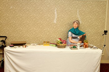 Jane Austen attends the JASNA - PS Dec meeting