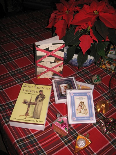 Austenprose's Jane Austen birthday giveaways 2011