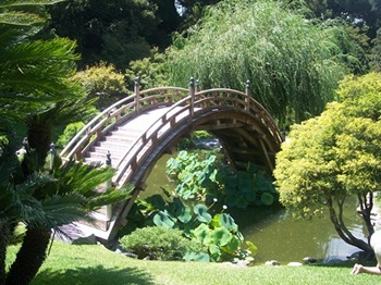 Japanese Garden at the Huntington Gardens and Library