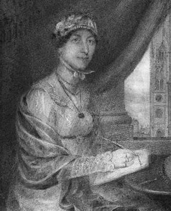 Possible portrait of Jane Austen (2011)