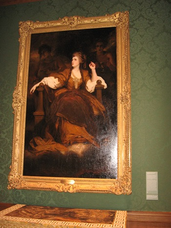 Sarah Siddons as the Tragic Muse by Josiah Reynolds
