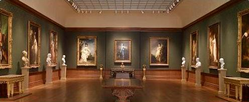 Thornton Portrait Gallery at the Huntington Library and Gardens