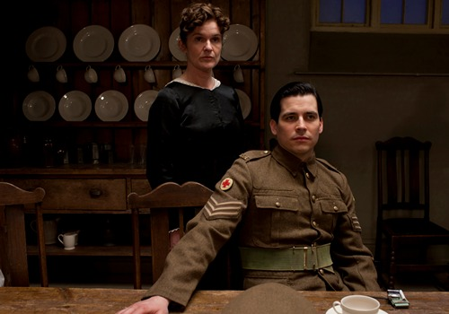 Image from Downton Abbey Season 2 Episode 3: Miss O'Brien and Thomas