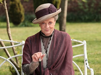 Downton Abbey Season 2: Maggie Smith as the Dowager Countess Grantham (2011)