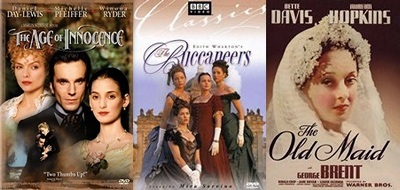Edith Wharton's works adapted into movies