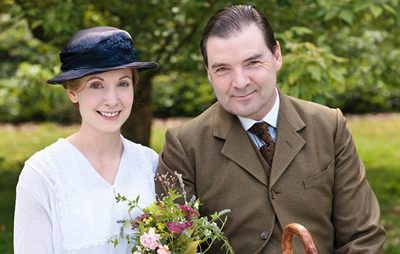 Image from Downton Abbey Season 2 Episode 6 Anna and Bates wedding