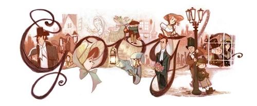 Google Celebration of Charles Dickens 2012