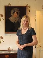 Victoria Connelly at the Jane Austen House Museum (2012)