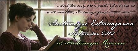 Austen Extravaganza 2012 banner