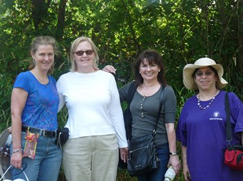 Hiking to the Snohomish River with Syrie, Laurel Ann, Julie and Diana (2012)