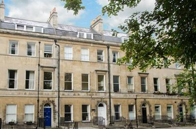 Jane Austen's home at 4 Sydney Place, Bath, today