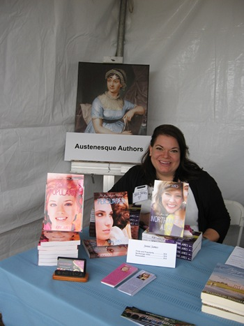 Author Jenni James at the Northwest Bookfest (2012)