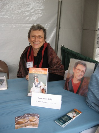 Author Susan Mason-Milks at the Northwest Bookfest (2012)