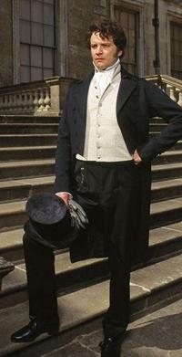 Colin Firth as Mr Darcy in Pride and Prejudice (1995)