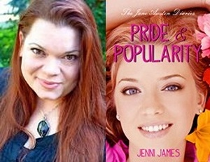 Jenni James, author of Pride and Popularity (2011)