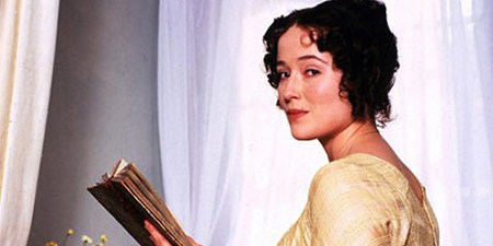 Jennifer Ehle as Elizabeth Bennet in Pride and Prejudice (1995)