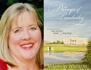Shannon Winslow, author of The Darcys of Pemberley (2011)