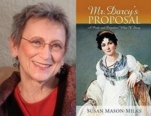 Susan Mason-Milks, author Mr. Darcy's Proposal (2012)