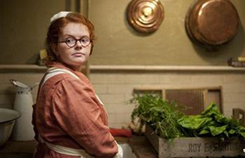 Image from Upstairs Downstairs Season 2: Ami Metcalf as Eunice McCabe © 2011 MASTERPIECE