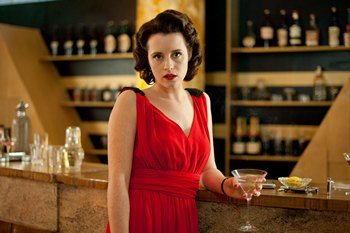 Image from Upstairs Downstairs Season 2: Claire Foy as Lady Persie Towyn © 2011 MASTERPIECE