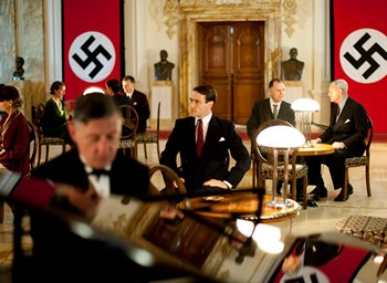 Image from Upstairs Downstairs Season 2: Edward Stoppard as Sir Holland in Nazi Germany © 2011 MASTERPIECE