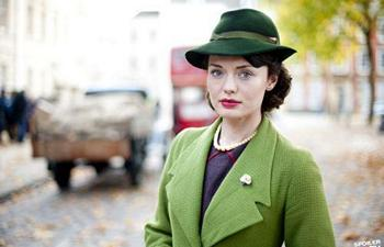 Image from Upstairs Downstairs (2012) Season 2: Laura Haddock as Beryl Ballard © 2011 MASTERPIECE