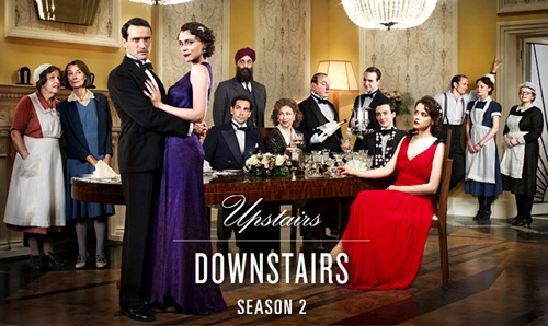 Image from Upstairs Downstairs Season 2: cast pictured © 2011 MASTERPIECE