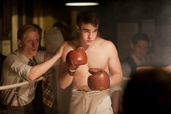 Image from Upstairs Downstairs Season 2: Nico Mirallegro as Johnny Proude © 2011 MASTERPIECE