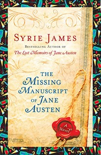 The Missing Manuscript of Jane Austen Book Launch Graphic