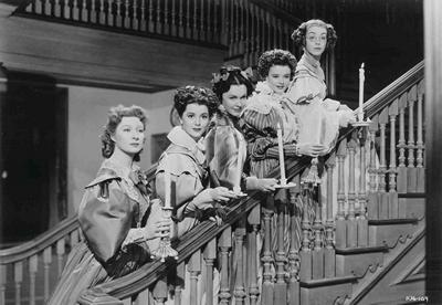 Pride and Prejudice MGM (1940) five Bennet sisters