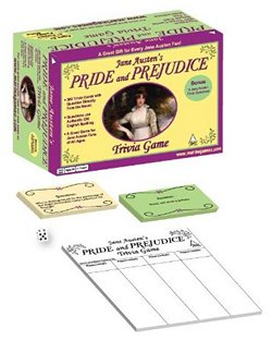 Pride and Prejudice Trivia Game