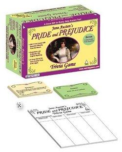Pride and Prejudice Trivia Game