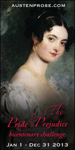 The Pride and Prejudice Bicentenary Challenge 2013