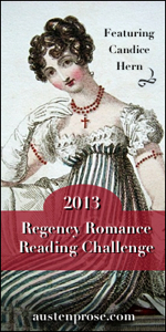 The Regency Romance Reading Challenge 2013