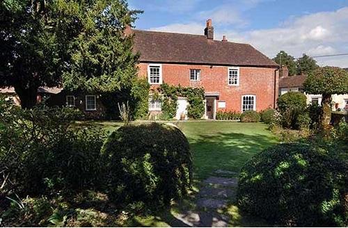 Chawton Cottage, Hampshire, England