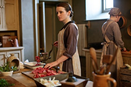 Downton Abbey Season 3 Episode 1: Daisy in the kitchen