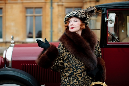 Downton Abbey Season 3 Episode 1: Martha Levinson arrives