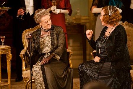 Downton Abbey Season 3 Episode 1: Violet and Martha