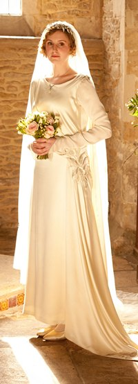 Downton Abbey Series 3 Episode 3: Lady Edith, wedding dress