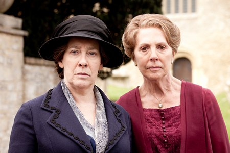 Downton Abbey Season 3 Episode 3: Mrs. Hughes and Mrs. Crawley