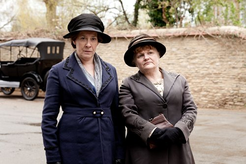 Downton Abbey Season 3 Episode 4: Mrs. Hughes and Mrs. Patmore