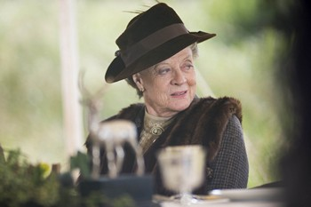 Downton Abbey Season 3: Maggie Smith as Violet Crawley (2012)