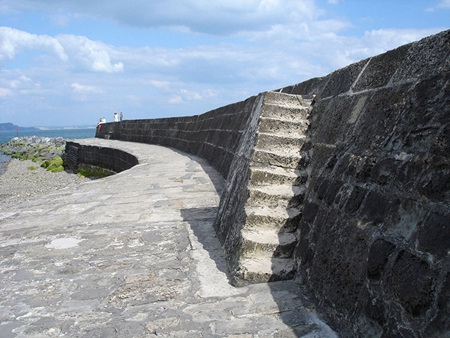 The Cobb Stairs at Lyme Regis
